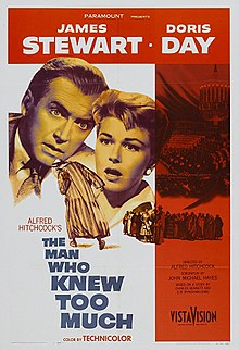 A Housewife's 1950s Movie Watch List- The Man Who Knew Too Much | classic movies to watch, must-see 1950s movies, grandma's favorite movies, what movies to rent, Amazon Instant Video, #movies #films #watchlist #1950s