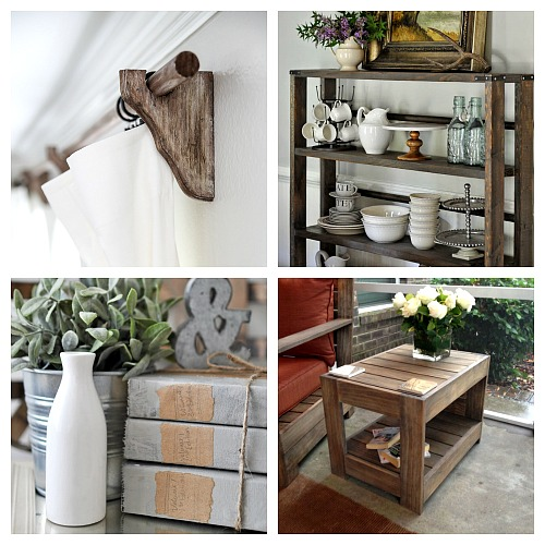20 Restoration Hardware Inspired DIY Projects- If you love the look of Restoration Hardware's products, but don't love the prices, there is a way to get the look for less! Check out these 20 Restoration Hardware inspired DIY projects! Small decor and large furniture projects included! | knock off DIY project, copycat DIY, #diyProject #CopycatDecor #knockOffDecor #decor #furniture #diy
