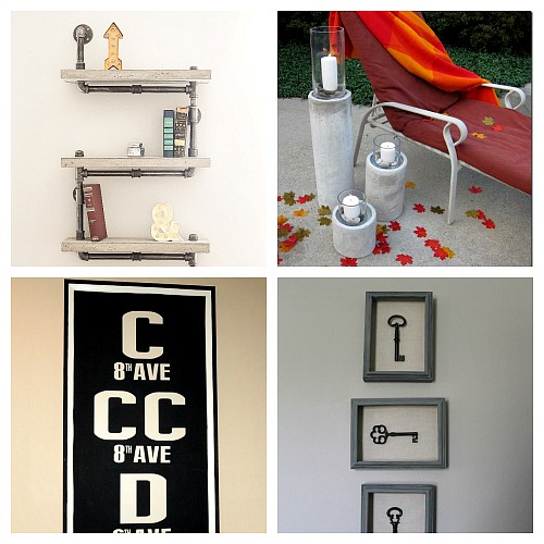 20 Restoration Hardware Inspired DIY Projects- Whether you call them knock offs or copycat decor, these 20 Restoration Hardware inspired DIY projects are frugal ways to change your home's decor! Small decor and large furniture projects included! | #diy #CopycatDecor #knockOffDecor #decor #furniture #diyProject