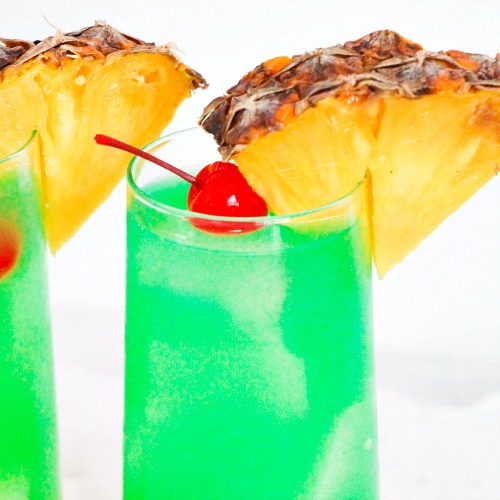 Blue Hawaii Mocktail Drink Recipe A Cultivated Nest