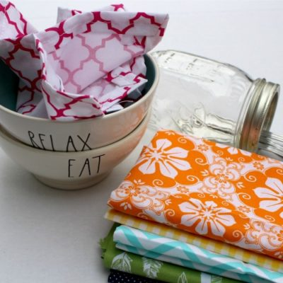 Homemade Cloth Napkins