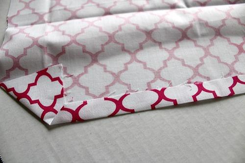Homemade Cloth Napkins- DIY napkin tutorial step 5