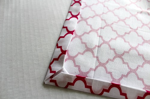 Homemade Cloth Napkins- DIY napkin tutorial step 6