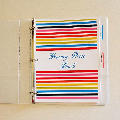 What is a Grocery Price Book and How Does it Save You Money?- Grocery price book binder | #saveMoney #moneySavingTips #groceries #frugal #frugalLiving #shopping #food #frugality #groceryPriceBook #groceryShopping