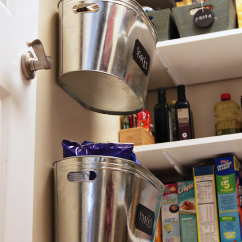 10 Ways to Organize a Small Kitchen- Organizing your small kitchen will be a lot easier when you know these 10 small kitchen organizing hacks! There are so many clever ways to create storage space in a small kitchen!   how to organize a small space, organize an apartment kitchen, organize a tiny kitchen, #kitchenOrganization #organize #homeOrganization #organizingHacks #ACultivatedNest