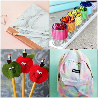 10 DIY School Supply Projects You Need To Make