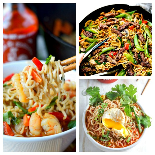 8 Ridiculously Delicious Ramen Recipes- Ramen can be used to create some delicious (and filling) dishes! For some great ideas, check out these 8 ridiculously delicious ramen recipes! | #recipe #ramen #noodles #food #cooking #soup