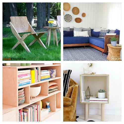 20 DIY Plywood Furniture Ideas- Looking for some great DIY plywood plans for your next project? You have to check out these 20 DIY plywood furniture ideas! | #DIY #DIYProject #furniture #decor #plywood #woodworking #plans