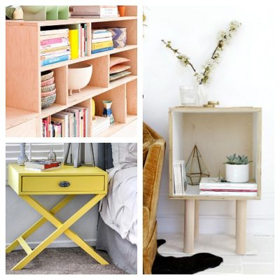 20 DIY Plywood Furniture Ideas
