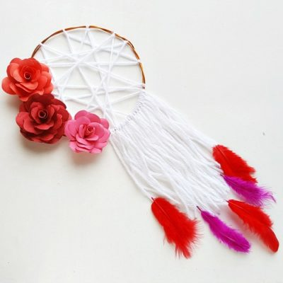 Floral DIY Dreamcatcher