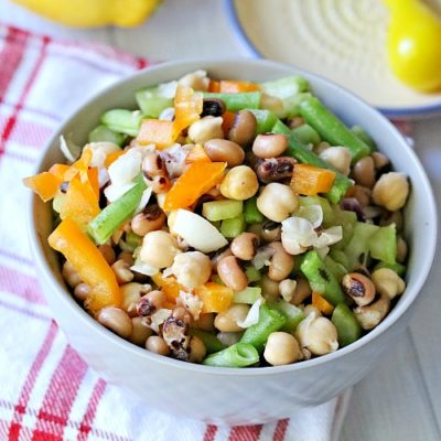 Tangy Chickpea Salad