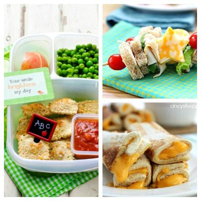 10 Easy Back to School Lunches