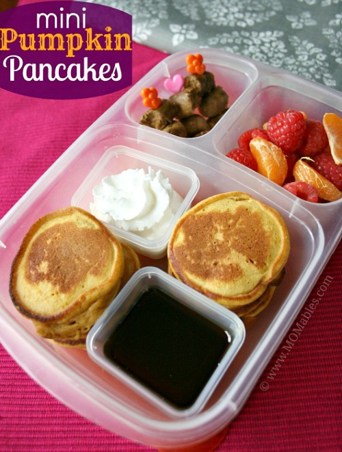 Fun back to school lunches- Mini Pancakes