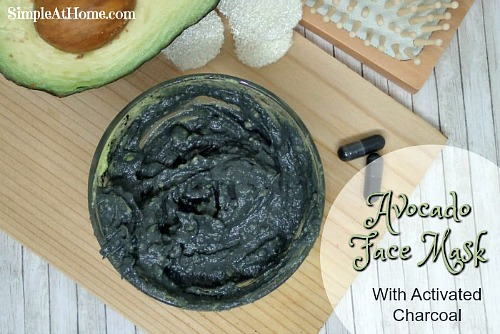 Avocado DIY Face Mask- There's no need to buy commercial face masks if you want to nourish your skin. Instead, make one (or a few) of these easy, all-natural homemade face masks! | all-natural DIY face masks, do it yourself skincare, DIY gift ideas, #homemade #DIY #beauty #faceMask #spa #skincare #allNatural #diyGift #homemadeGift #ACultivatedNest