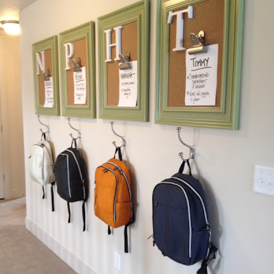 14 Clever Back to School Organization Hacks- Check out these 14 useful back to school organization ideas and help your kids and you keep everything in order during the school year! | get organized for back-to-school, homeschool room organization, organize, homeschooling, #backToSchool #organization #organizing #organizingTips #ACultivatedNest