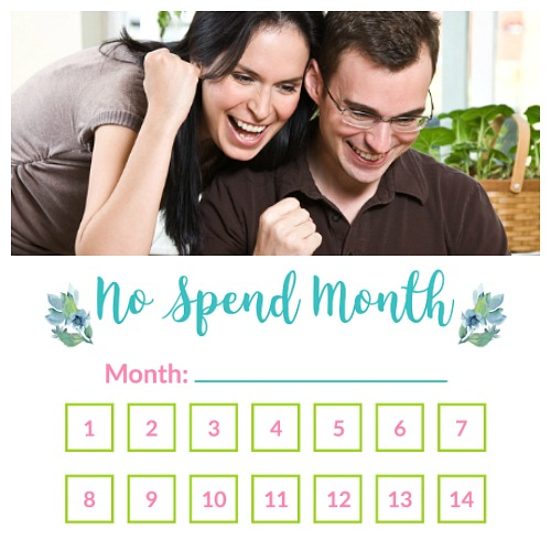 How to Do the No Spend Month Challenge- A No Spend Month is a great way to save a lot of money fast! Here is how to do the No Spend Month Challenge, with a free printable worksheet included! | money saving challenge, how to save money fast, #noSpendMonth #saveMoney #frugalLiving #freePrintable #noSpendChallenge #printable #frugal #ACultivatedNest
