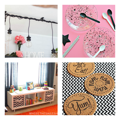 IKEA Craft Projects- You don't have to break your budget to update your home's decor. Instead, try one of these cute and clever DIY IKEA hacks! | DIY decor project, IKEA craft ideas, update IKEA furniture, frugal living, #IKEAhacks #DIY #ACultivatedNest