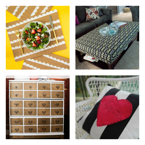 IKEA Decor Hacks- You don't have to break your budget to update your home's decor. Instead, try one of these cute and clever DIY IKEA hacks!   DIY decor project, IKEA craft ideas, update IKEA furniture, frugal living, #IKEAhacks #DIY #ACultivatedNest