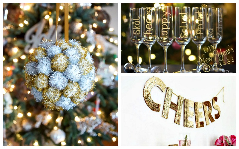 15 DIY New Year's Eve Decor Ideas