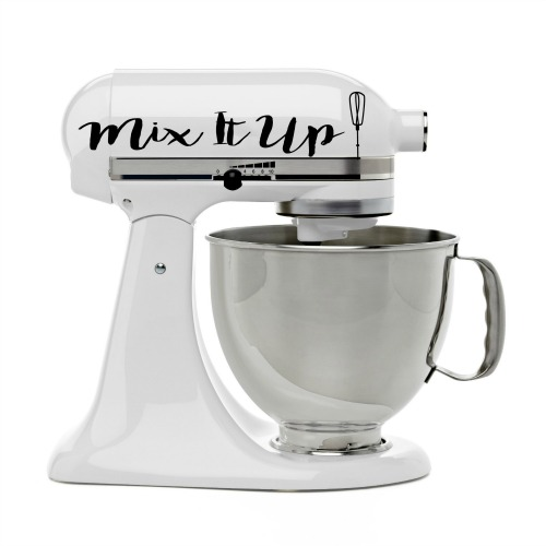 How to Decorate Your KitchenAid Mixer- Your stand mixer is good for more than just mixing up desserts! Take advantage of all your mixer can do with these 15 KitchenAid mixer hacks and tips!   ways to use your KitchenAid mixer, things your stand mixer can do, mixer DIY play dough, shred chicken, #hacks #kitchenaid #ACultivatedNest