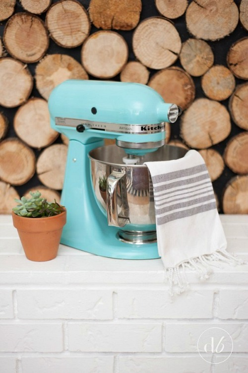 How to Paint Your KitchenAid Mixer- Your stand mixer is good for more than just mixing up desserts! Take advantage of all your mixer can do with these 15 KitchenAid mixer hacks and tips! | ways to use your KitchenAid mixer, things your stand mixer can do, mixer DIY play dough, shred chicken, #hacks #kitchenaid #ACultivatedNest