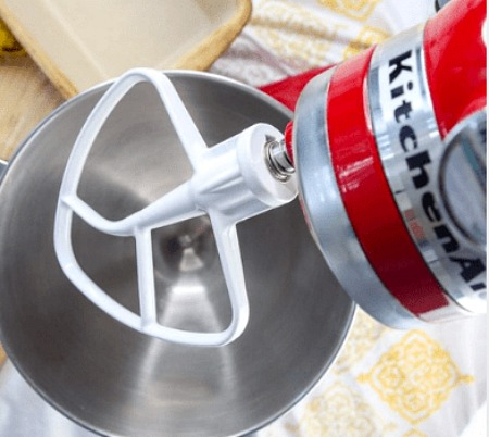 Which KitchenAid Mixer Beater to Use- Your stand mixer is good for more than just mixing up desserts! Take advantage of all your mixer can do with these 15 KitchenAid mixer hacks and tips!   ways to use your KitchenAid mixer, things your stand mixer can do, mixer DIY play dough, shred chicken, #hacks #kitchenaid #ACultivatedNest
