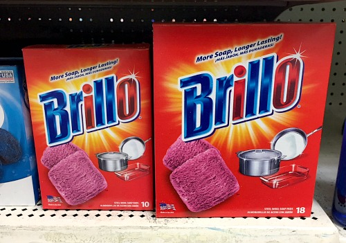 10 Awesome Brillo Hacks- Did you know that Brillo pads can be used for more than just scrubbing pots and pans? Here are 10 amazing Brillo steel wool soap pad hacks you need to try! | cleaning hacks, Brillo hacks, S.O.S hacks, use up leftover Brillo, frugal living, #hacks #cleaningTips #ACultivatedNest