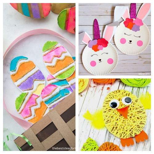 17 Fun and Frugal Easter Kids Activities- Keep your kids entertained this Easter with these 17 fun and frugal Easter kids activities! They're so fun, and very inexpensive! | spring kids crafts, paper plate crafts, bunny kids crafts, DIY easter eggs, #Easter #kidsActivities #ACultivatedNest