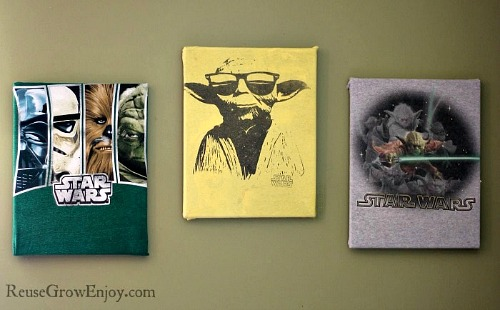 Create Art With Old T-Shirts- Just because a t-shirt's old doesn't mean it's trash! Instead, try one of these awesome ways to upcycle t-shirts! There are a lot of great t-shirt DIYs to try! | repurpose t-shirt, t-shirt restyle, recycle t-shirt, ways to use favorite old shirts, #upcycle #diy #ACultivatedNest