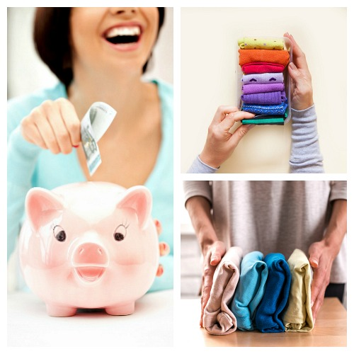 How Tidying Up Can Benefit Your Bank Account- Marie Kondo's KonMari method of tidying up can not only help you organize your home, it can also benefit your bank account! Here's how it can help you save money and make money! | money saving tips, frugal living, make money from decluttering, #konMari #tidyingUp #ACultivatedNest