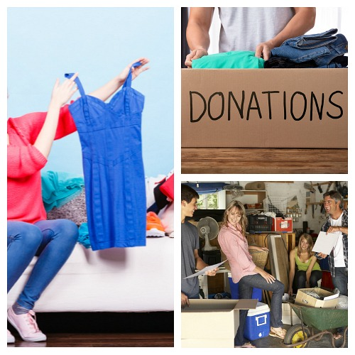 7 Things to Do With Clothing You No Longer Want- Wondering what to do with the clothes you recently decluttered? Here are 7 great ideas for things to do with clothing you no longer want! | make money from old clothes, what to do with clothes you don't want, declutter clothes, #decluttering #konMari #ACultivatedNest