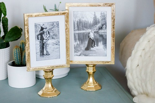 Table Top Frames- An inexpensive and easy way to make pretty decor is with dollar store materials! Check out all of this pretty home decor made with dollar store frames! | dollar store decor DIY projects, dollar store crafts, upcycle old frames, #dollarStore #dollarTree #DIY #decor #AcultivatedNest