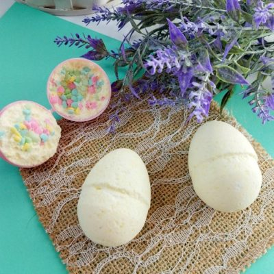 Sprinkle Surprise Easter Egg Bath Bombs