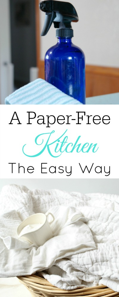 10 Tips for a Zero Waste Kitchen: Paper-free Kitchen- If you want to create an eco-friendly and money saving waste-free kitchen, it's not hard. All you need is to know these 10 tips for a zero waste kitchen! | how to make a zero waste kitchen, reduce kitchen waste, reduce food waste, #zeroWasteKitchen #ecoFriendly #frugalLiving #ACultivatedNest