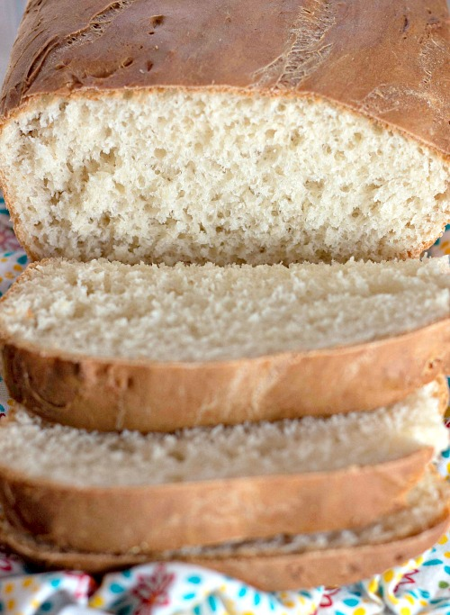 No-Knead English Muffin Bread Recipe- If you love English muffins, then you need to try them as a loaf! Here is how to make homemade English muffin bread! It's so delicious toasted!   no knead bread, homemade bread, baking recipes, #baking #bread #recipe #ACultivatedNest