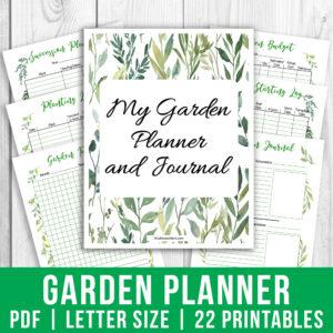 Printable Garden Planner