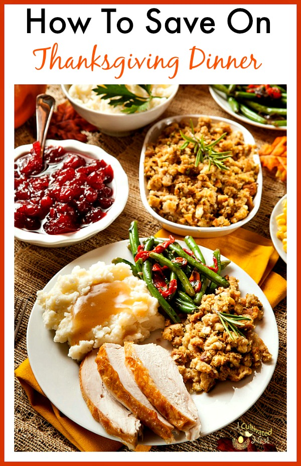 Hosting Thanksgiving dinner doesn't have to break the bank. Here are some tips for saving money on Thanksgiving dinner!