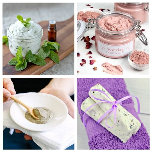 How to Have a Spa Day at Home- You can have a luxurious DIY spa day at home with these budget-friendly DIY beauty products and beauty ideas! You'll be relaxed (and looking beautiful) in no time! | homemade beauty products, DIY beauty products, sugar scrub, bath salts, body butter, #spaDay #spaDayAtHome #DIY #homemadeBeautyProducts #ACultivatedNest