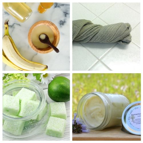 How to Have a Spa Day on a Budget- You can have a luxurious DIY spa day at home with these budget-friendly DIY beauty products and beauty ideas! You'll be relaxed (and looking beautiful) in no time! | homemade beauty products, DIY beauty products, sugar scrub, bath salts, body butter, #spaDay #spaDayAtHome #DIY #homemadeBeautyProducts #ACultivatedNest