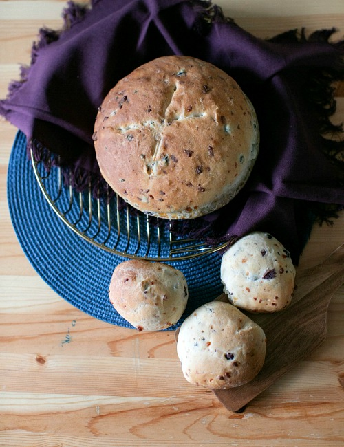 Gourmet Parmesan Olive Bread Baking Recipe- There's nothing better than fresh baked bread made from scratch! This homemade olive Parmesan bread is delicious and a perfect pair for so many dishes! | homemade bread recipe, how to make bread without a bread machine, bread rolls recipe, gourmet bread recipe, #homemade #baking #bread #recipe #ACultivatedNest