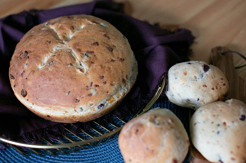 Homemade Olive Parmesan Bread- There's nothing better than fresh baked bread made from scratch! This homemade olive Parmesan bread is delicious and a perfect pair for so many dishes! | homemade bread recipe, how to make bread without a bread machine, bread rolls recipe, gourmet bread recipe, #homemade #baking #bread #recipe #ACultivatedNest