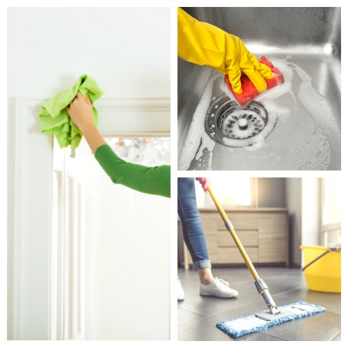 How to Get Started with the FlyLady System- If you dream of having a clean and organized home, but feel you don't have the time to make it happen, you need to check out the FlyLady cleaning system! It's the perfect cleaning method for busy people!   how to keep your home clean with kids, #cleaningTips #flyLady #cleaning #homemaking #ACultivatedNest