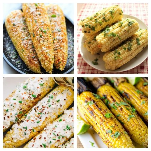 20 Mouthwatering Corn Recipes- You are going to want to try all of these mouthwatering corn on the cob recipes! They're easy to make, and are sure to be a hit addition to any meal! | Mexican corn recipe, grilled street corn, #cornOnTheCob #corn #recipe #sideDish #ACultivatedNest