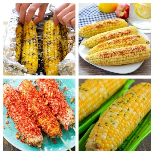 20 Delicious Corn Side Dish Recipes- You are going to want to try all of these mouthwatering corn on the cob recipes! They're easy to make, and are sure to be a hit addition to any meal! | Mexican corn recipe, grilled street corn, #cornOnTheCob #corn #recipe #sideDish #ACultivatedNest