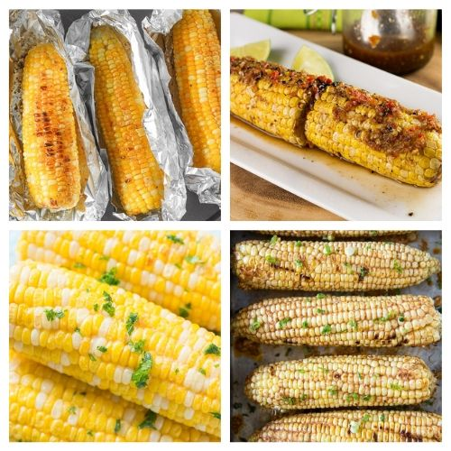 20 Mouthwatering Corn on the Cob Side Dish Recipes- You are going to want to try all of these mouthwatering corn on the cob recipes! They're easy to make, and are sure to be a hit addition to any meal! | Mexican corn recipe, grilled street corn, #cornOnTheCob #corn #recipe #sideDish #ACultivatedNest