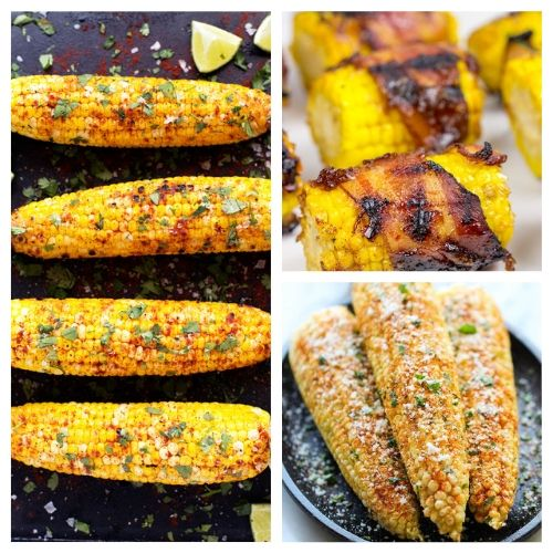 20 Mouthwatering Corn On the Cob Recipes- You are going to want to try all of these mouthwatering corn on the cob recipes! They're easy to make, and are sure to be a hit addition to any meal! | Mexican corn recipe, grilled street corn, #cornOnTheCob #corn #recipe #sideDish #ACultivatedNest