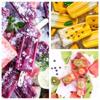 24 Homemade Fruit Popsicles Everyone Will Love