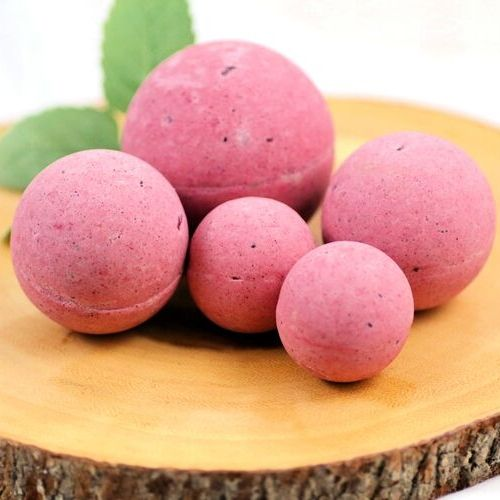 DIY Beet Bath Bombs- Relax after a rough day with these DIY beet bath bombs. They smell amazing, are super easy to make, and are terrific DIY gifts for friends and family! | #bathBomb #DIY #beauty #DIYGift #ACultivatedNest