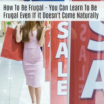 How to be frugal - you CAN learn to be frugal if it's something that doesn't come naturally to you. Check out these 4 tips that will help you succeed on your frugal living journey. #frugalliving #frugal #monesavingideas #acultivatednest