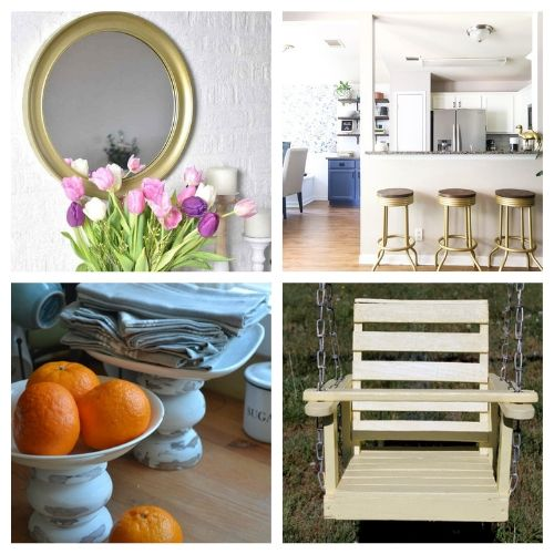 20 Fantastic DIY Thrift Store Projects- Transform your space with these fantastic thrift store decor makeovers! The options are endless when it comes to upcycling furniture and other accessories! | #DIY #craft #thriftStoreMakeover #upcycle #ACultivatedNest